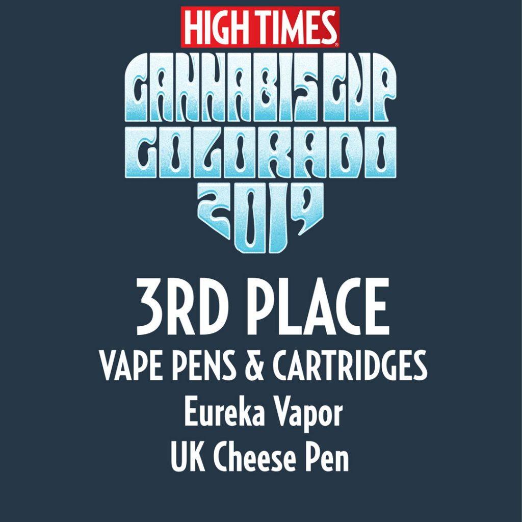 Eureka 3rd Place Award UK Cheese Pen