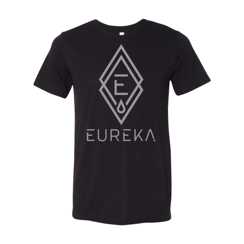 Black T-Shirt with Eureka Logo