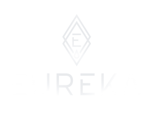 Eureka Logo Vertical with Silver Flare